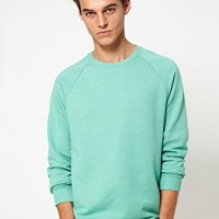ASOS Sweatshirt With Raglan Sleeves at asos.com