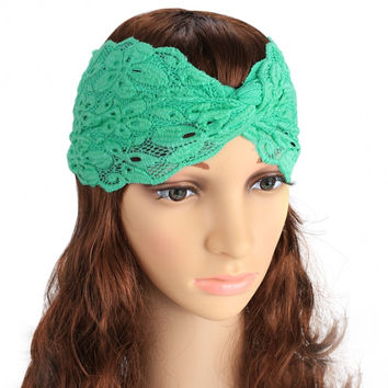Lace Twist Headband