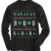 Doctor Who Ugly Christmas Sweater