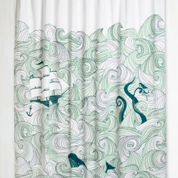 Quirky Swell Acquainted Shower Curtain by ModCloth