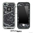 Black Laced Skin for the iPhone 5 or 4/4s LifeProof Case