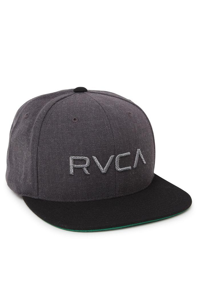 reputable site 06607 3e29e RVCA Twill Melange Snapback Hat - Mens Backpack