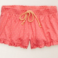 Aerie Women's Softest Sleep Boxer (Pink Bath)