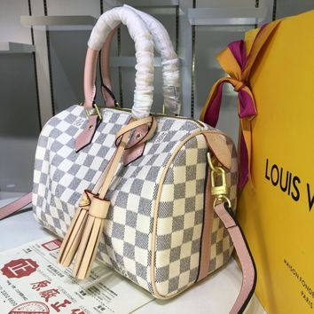 DCCK 1592 Louis Vuitton LV Speedy Tassel Handbag