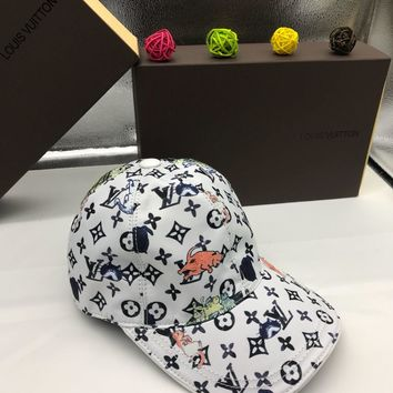 LV Men Women Fashion Casual Hat Cap