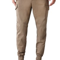 Bullhead Denim Co Dillon Skinny Cargo Jogger Pants - Mens Pants