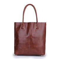 YUANGU Men and women retro package. Full leather. High-quality products YG216