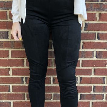 Dancing In The Moonlight Leggings - Black