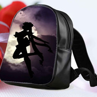 my sailor in moon wallpaper for Backpack / Custom Bag / School Bag / Children Bag / Custom School Bag **