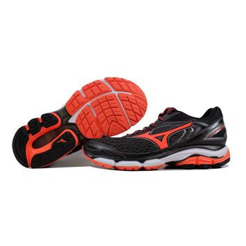 Mizuno Wave Inspire 13 Shadow Grey/Coral-White J1GD174455