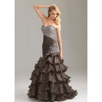 Sheath Sweetheart Floor-Length Taffeta Prom Dress SSC0375