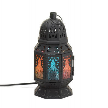 Enchanted Rainbow Lantern Lamp