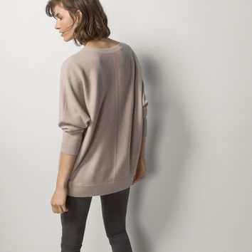 CAPE SWEATER - Essential Knitwear - WOMEN - Italy - Massimo Dutti