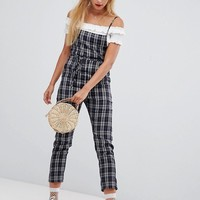 Emory Park cami jumpsuit in vintage check at asos.com