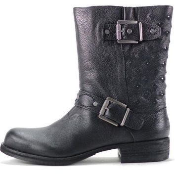 0b325a110 CREYI7E Sam Edelman for Women  Bevin Black Leather Boots
