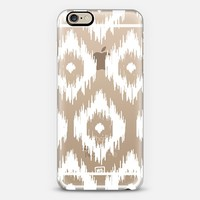 Ikat - Transparent iPhone 6 case by Whitney Blake | Casetify