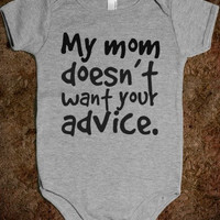 Be My Uncle Baby Onesuit