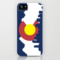 Born and Raised - Colorado iPhone & iPod Case by pFiorella