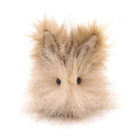 Bubbles Bunny Rabbit Stuffed Toy Plushie Animal Easter Bunny -4 x 5 Inches Small Size
