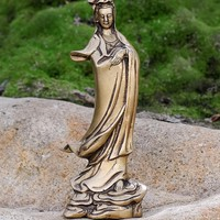 Kwan Yin With Flowing Robes
