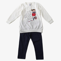 Moschino Baby Graphics T-Shirt Set - MDK007 -  FINAL SALE