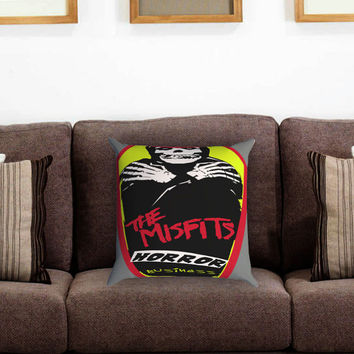 the misfits horror business Pillow Cover , Custom Zippered Pillow Case One Side Two Sides