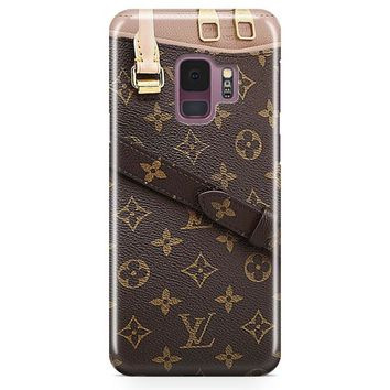 Louis Vuitton Monogram Business Samsung Galaxy S9 Plus Case | Casefantasy