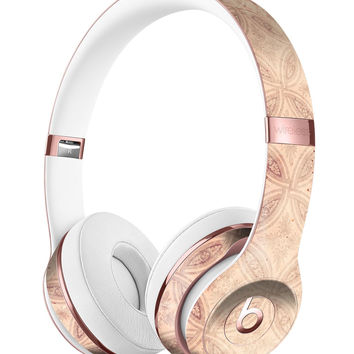 Faded Maroon Overlapping Circles Full-Body Skin Kit for the Beats by Dre Solo 3 Wireless Headphones
