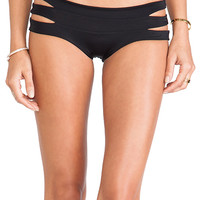 Indah Bardot Band MC Bikini Bottom in Black