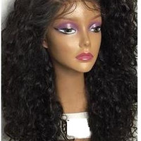 200 Density 100% Human Hair Wig With Baby Hair