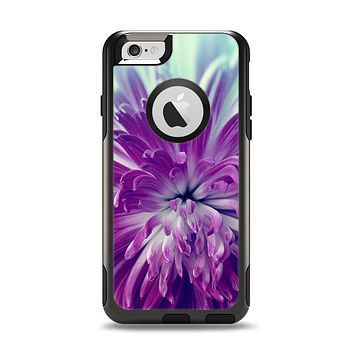 The Vivid Purple Flower Apple iPhone 6 Otterbox Commuter Case Skin Set