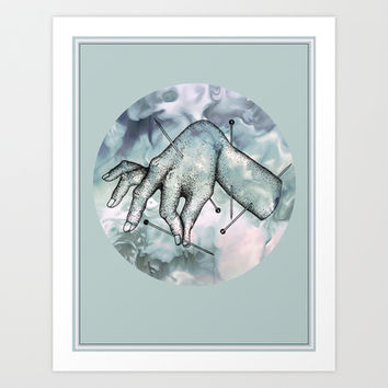 Pinned Art Print by The Outlet Epoch
