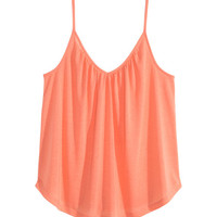 V-neck Tank Top - from H&M
