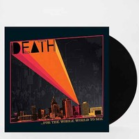 Death - For The Whole World To See LP- Black One