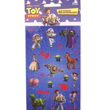 Toy Story 44 Count Sticker Sheet