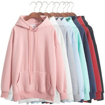 Pastel Loose Hoodies
