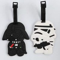 Star Wars Darth Vader Or Storm Trooper Luggage Tag