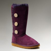 Ugg Bailey Button Triplet 1873 Purple Boots
