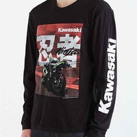 Kawasaki Ninja Long-Sleeve tee- Black