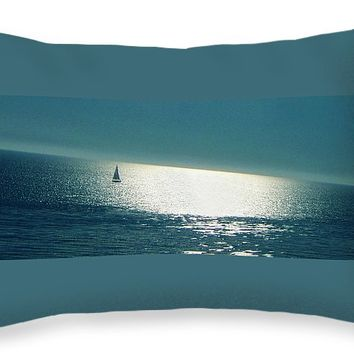 "Pacific Throw Pillow for Sale by Ben and Raisa Gertsberg - 20"" x 14"""