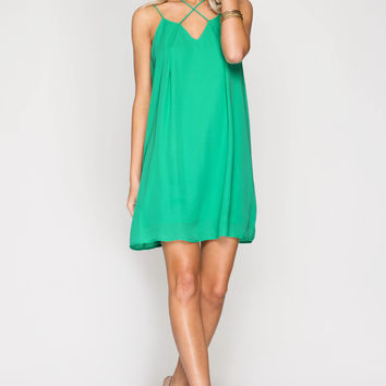 Summer Jade Strappy Detail Dress