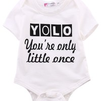 Newborn Infant Kids Baby Boy Girl Cotton Romper Jumpsuit Outfit Clothes newborn baby clothes baby rompers clothing creepers