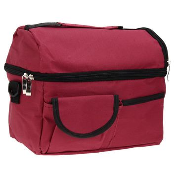 Square Thermal Lunch Box Lady Handbag Children Lunch Bags Insulation Packages