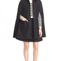Women's RED Valentino Wool Blend Cape,
