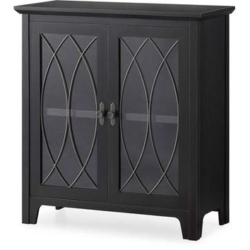Whalen Dining and Accent Cabinet, Black - Walmart.com