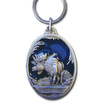 Key Ring - Yellowstone Moose