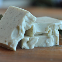 Earthsong Sandalwood soap -  vegan natural and handmade with shea butter