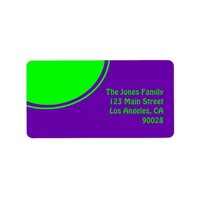 Mod colorful green purple