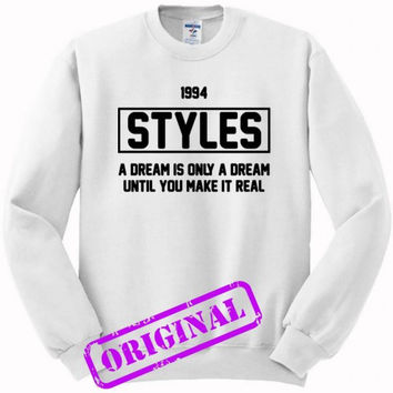 Harry Styles quote for sweater white, sweatshirt white unisex adult