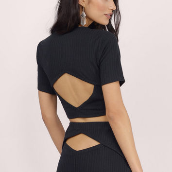 Up For It Ribbed Crop Top $28